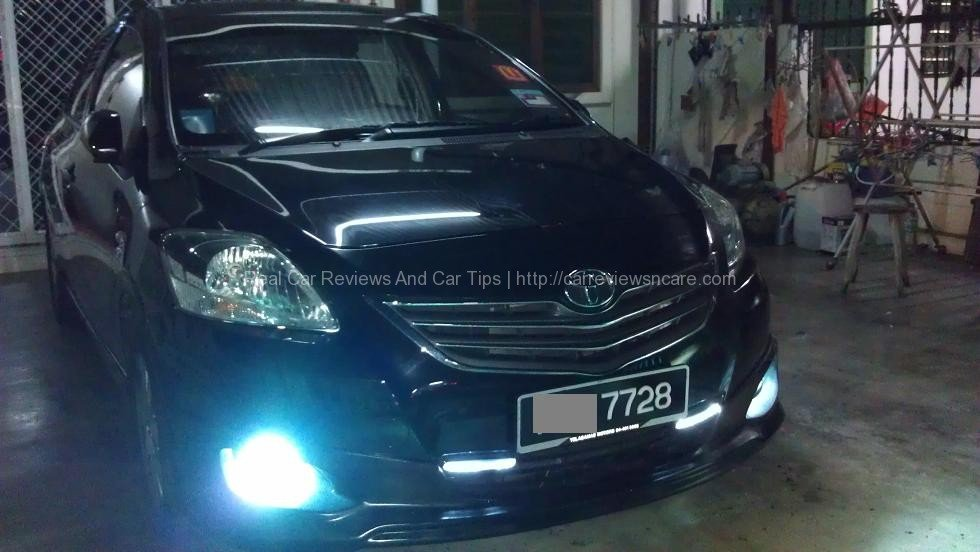 Toyota Vios with GT Street skirting