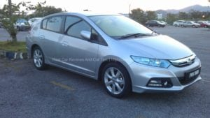 Honda Insight 1.3L Test Drive Review On Jelutong Express Highway