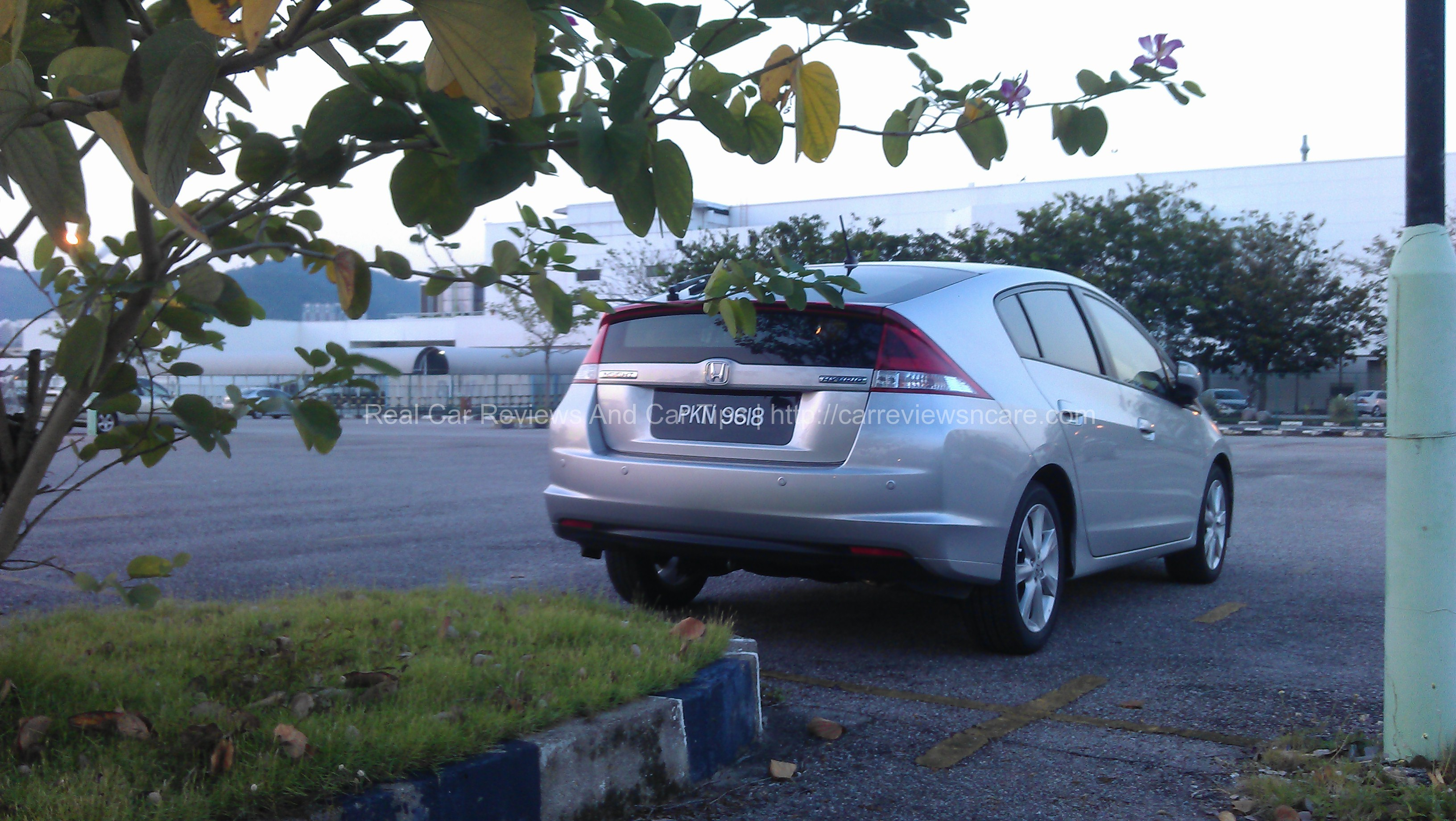 Honda Insight 1 3l Test Drive Review On Jelutong Express Highway