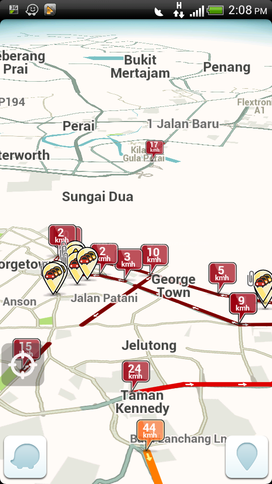 Traffic Jam with Waze