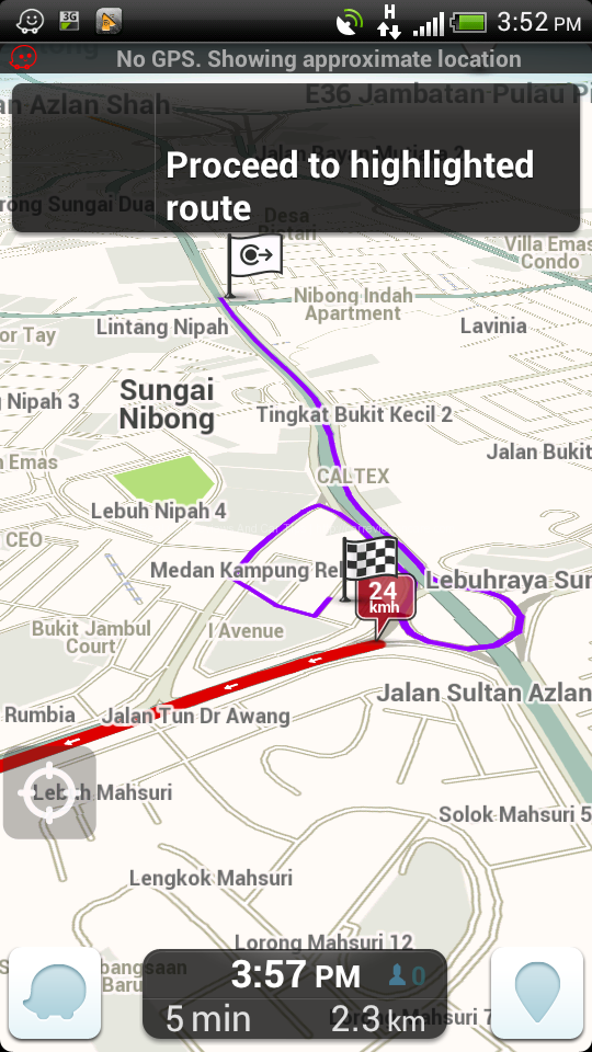 Navigation Feature by Waze