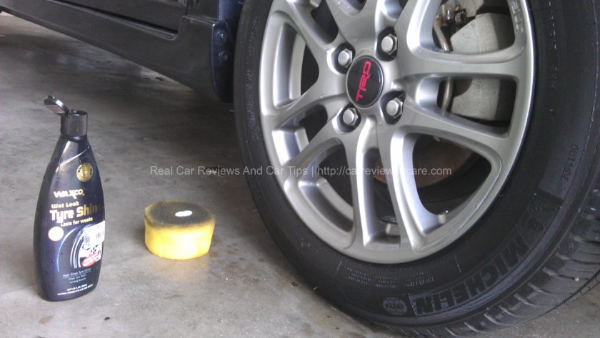 TRD Tyre with Michelin Tyre