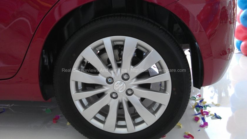 Suzuki Swift 1.4 CBU 16 inch wheels with rear wheels disc brakes