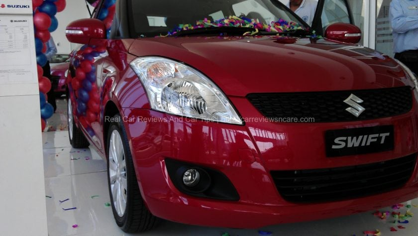 Front View Suzuki Swift 1.4 CBU
