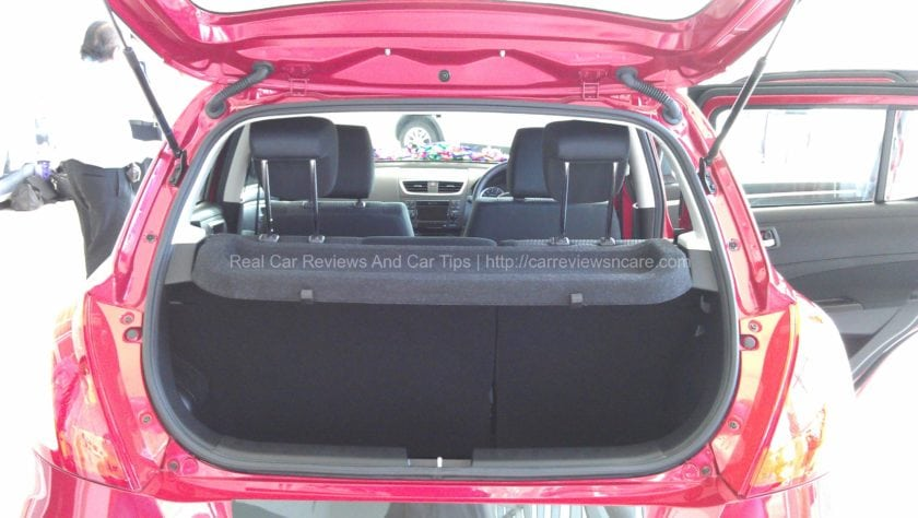Suzuki Swift 1.4 CBU Luggage Room