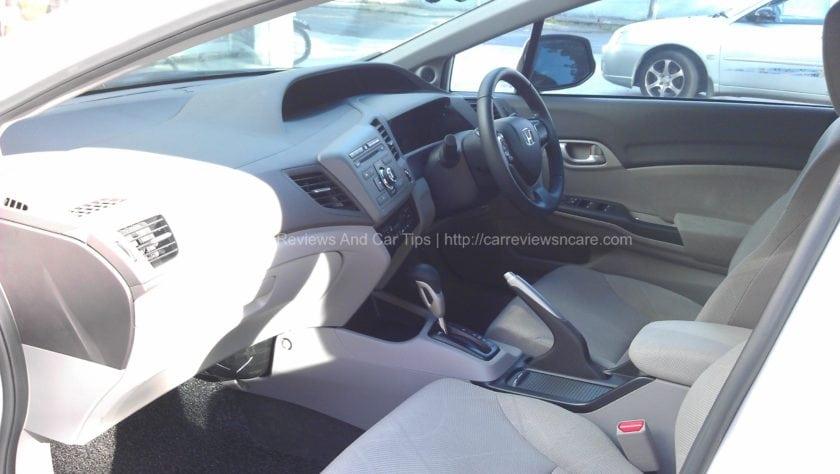 Honda Civic 1.8S Front Seat View