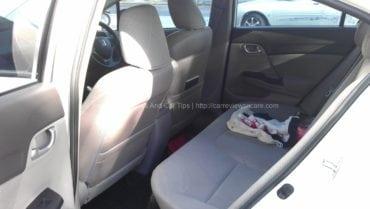 Honda CIvic 1.8S Rear Seats