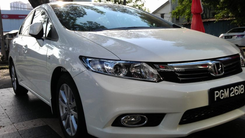 Honda Civic 1.8S Front View