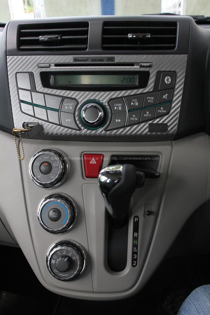 Perodua Myvi 1.3 Standard Dashboard