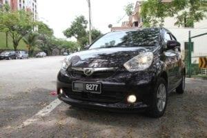Perodua Myvi 1.3 Standard Test Drive Review in Cheras