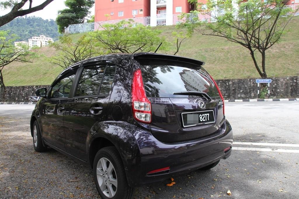 Perodua Myvi 1.3 Standard Rear View