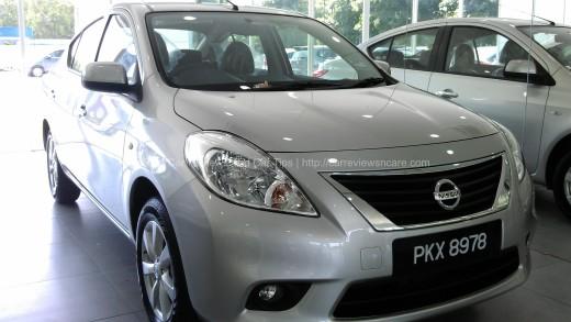 Nissan Almera 1.5L V A/T Front View
