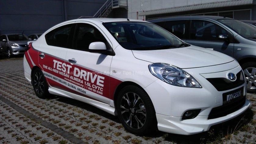 Nissan Impul Almera Front View