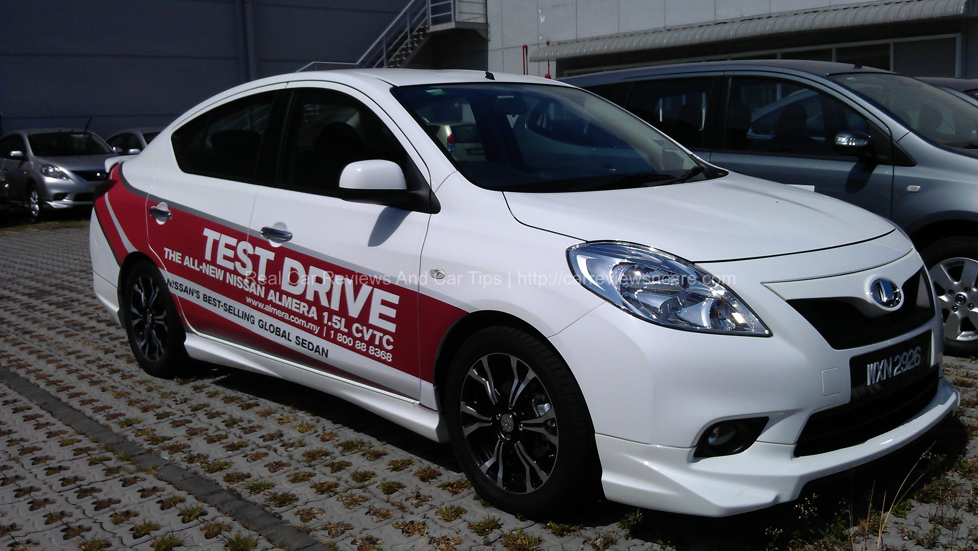 nissan almera 1 5v test drive review in penang