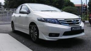 New Facelift Honda City Test Drive Stories at Esplanade Penang
