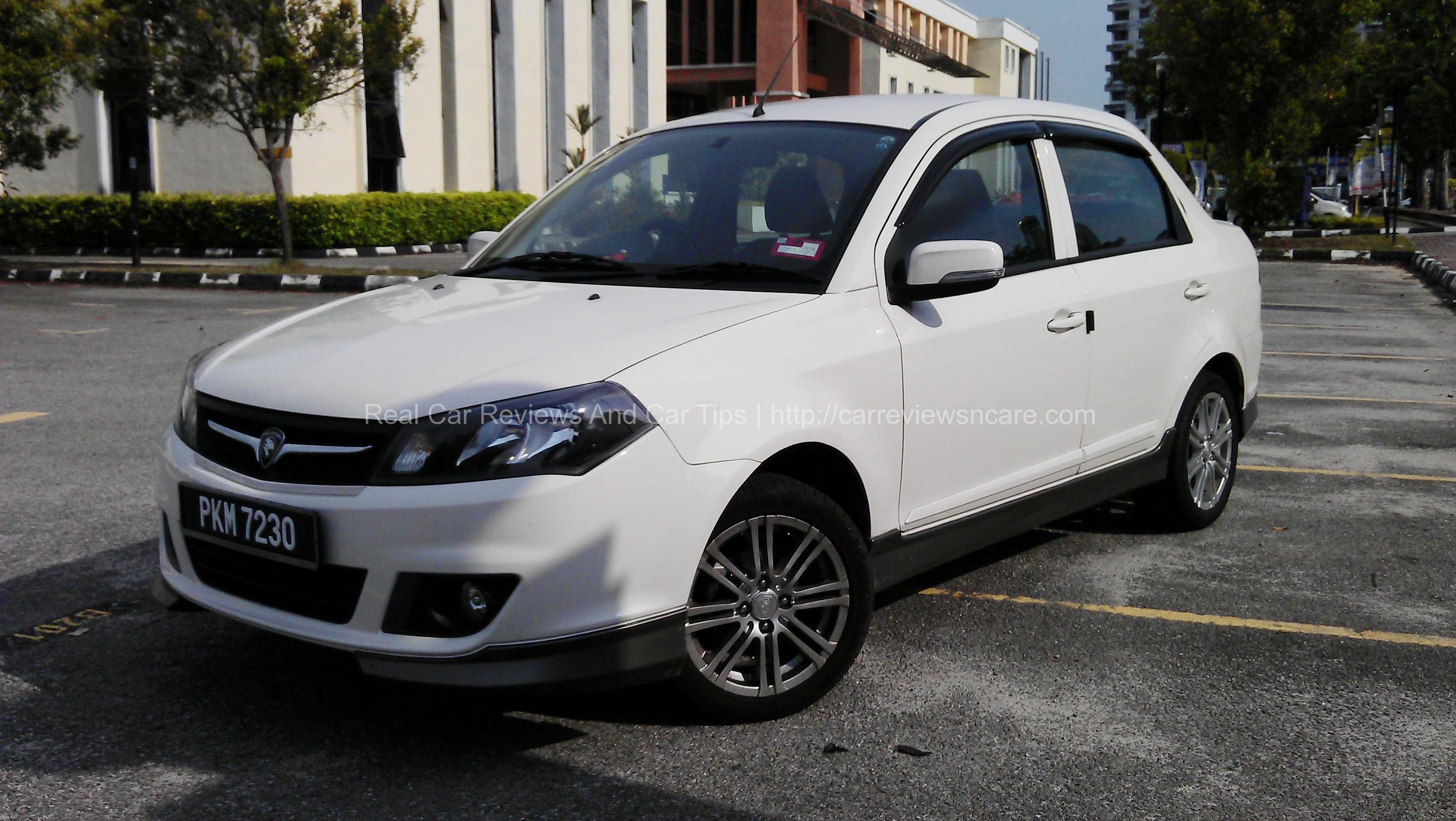 White Proton Saga FLX 1.6 SE