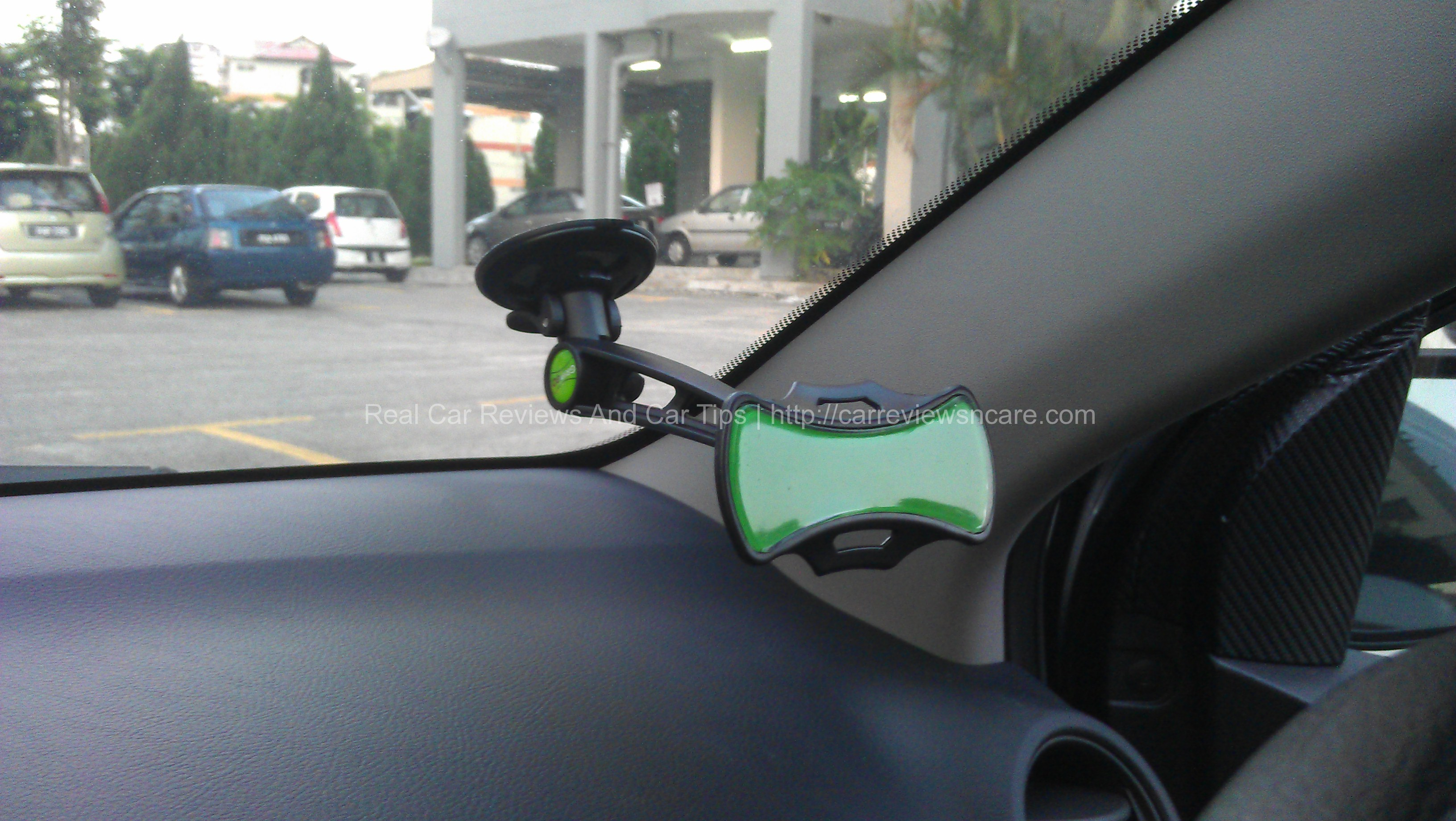 Gripgo hands free cell phone mount review