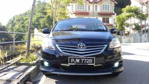 Toyota Vios with GT Street Kit and DLR