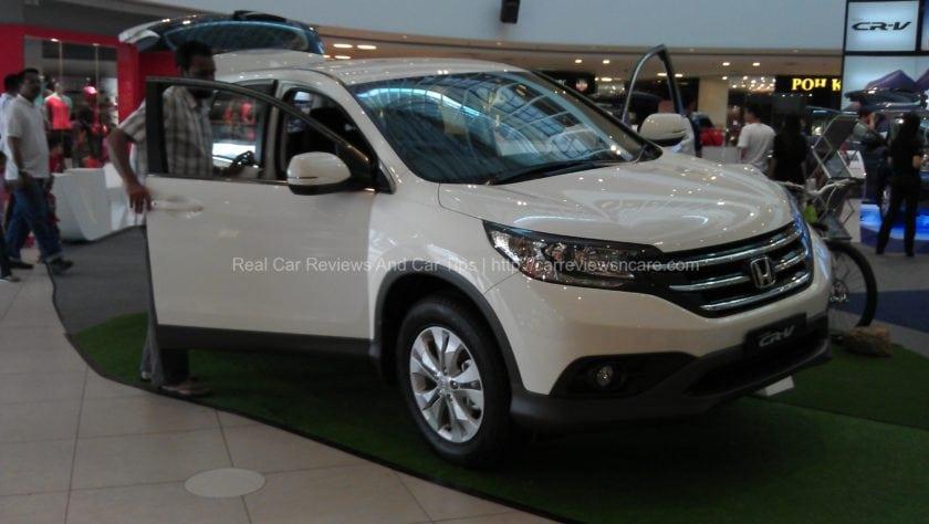 All New Honda CR-V White
