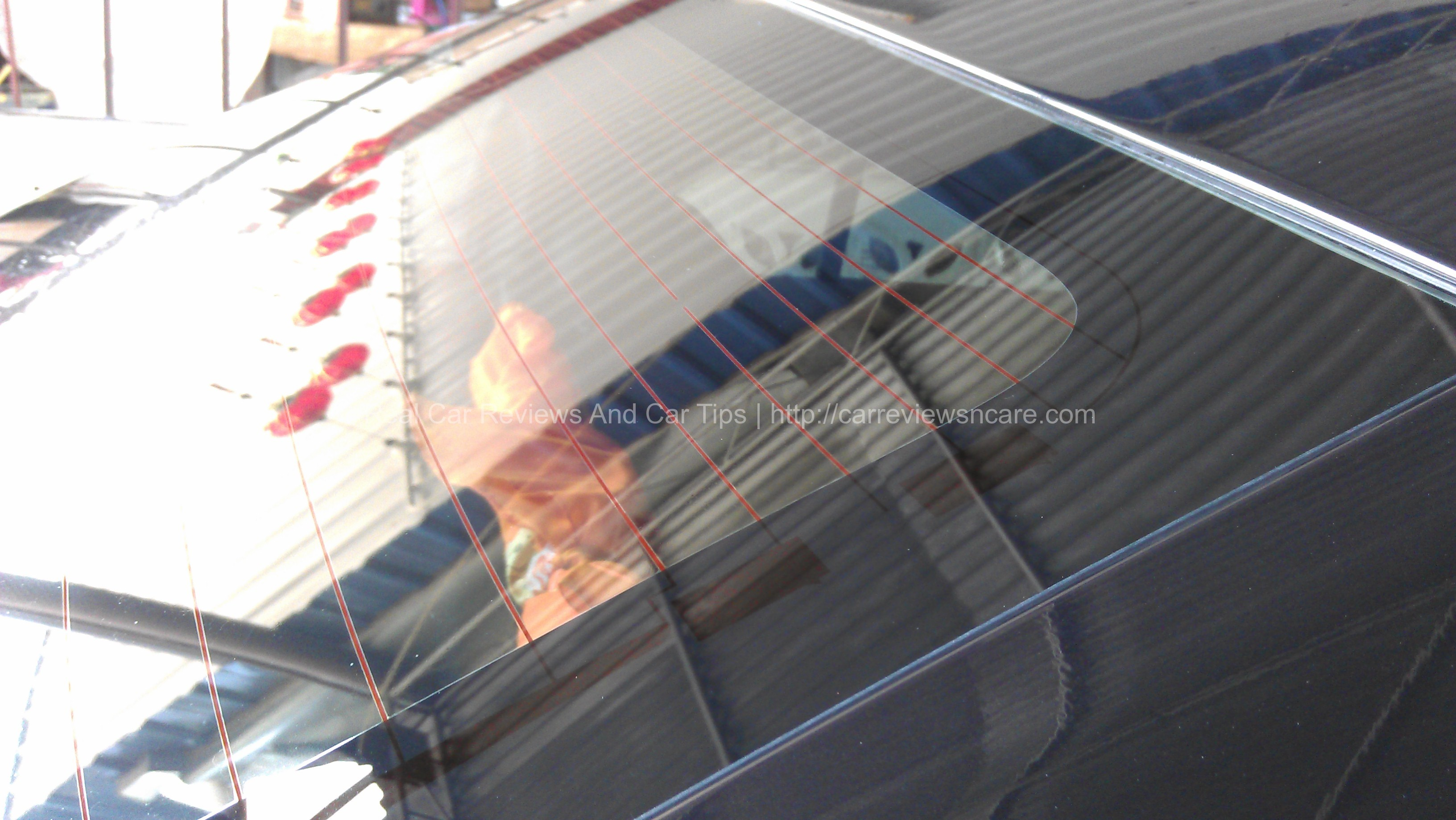 Water Marks Remover on Auto Glass