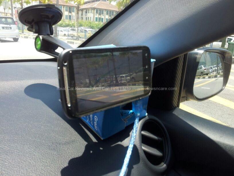 GripGo with Waze on HTC Sensation