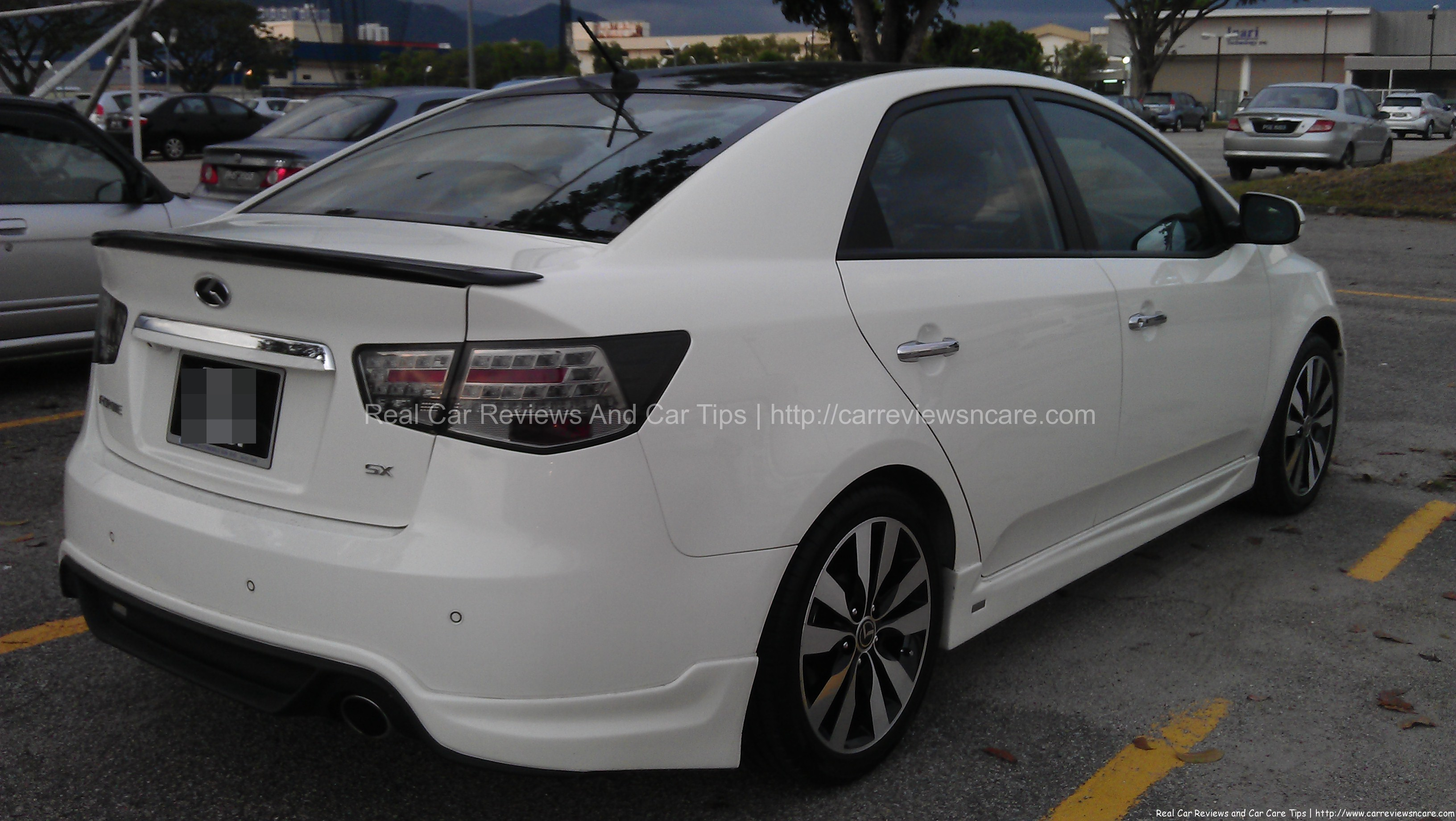 Naza Kia Forte 1.6 SX Rear View