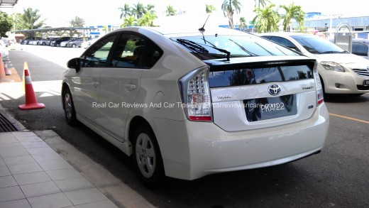Toyota Prius Luxury Rear View