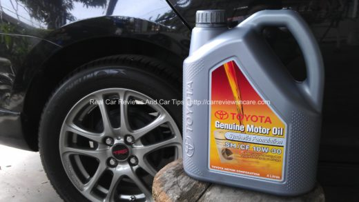 Semi Synthetic Engine Oil 10W-30 for Toyota Vios