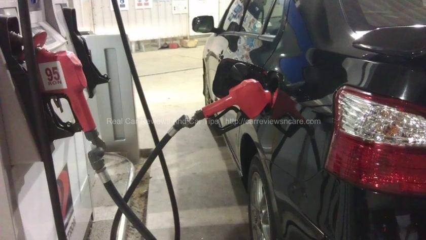 Pumping Petrol at Petron