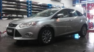 Ford Focus 2.0L Titanium Test Drive Story in Penang