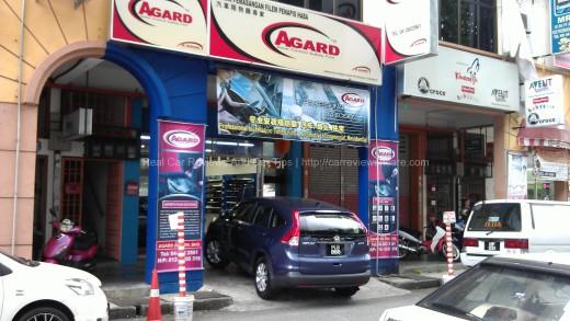 AGUARD Advanced Solar Tint Specialist Shop in Jalan Perak, Penang