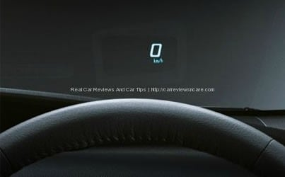 Toyota Prius Luxury HUD