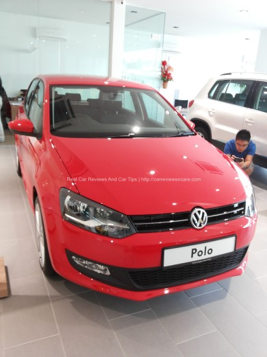 Volkswagen Polo 1.2 TSI Front