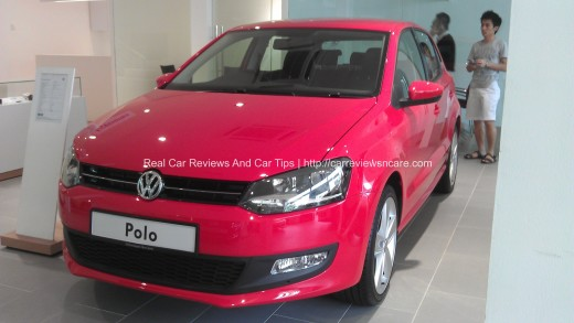 Volkswagen Polo 1.2 TSI Front View