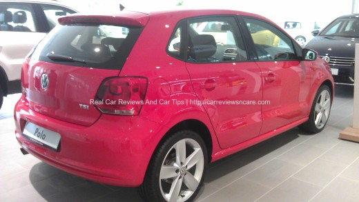 Volkswagen Polo 1.2 TSI Back View