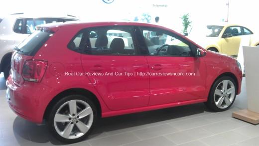 Volkswagen Polo 1.2 TSI Side View