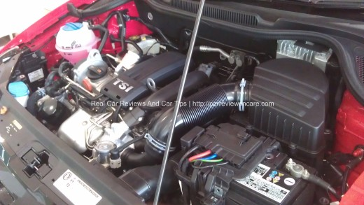 Volkswagen Polo 1.2l 105PS TSI turbocharged direct petrol injection 4-cylinder engine