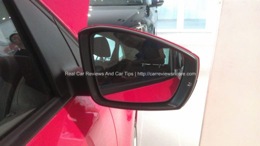 Volkswagen Polo 1.2 TSI side mirror with heating function