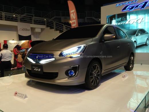 Mitsubishi G4 Concept Car Front View
