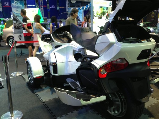 CAN-AM Spyder RS Roadster Rear View