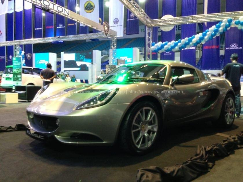 Lotus Elise Side View
