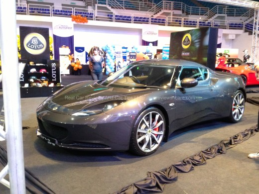 Lotus Evora S Side View