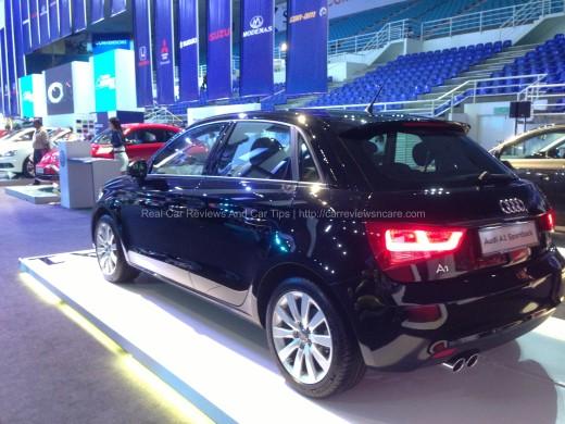Audi A1 Sportback Rear View