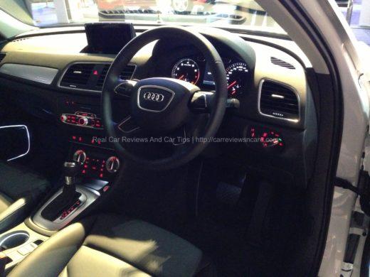 Audi Q3 Driver Seat View
