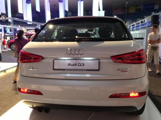 Audi Q3 Rear View