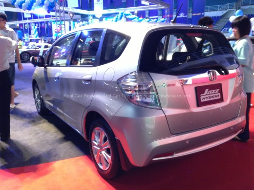Honda Jazz Hybrid Back View