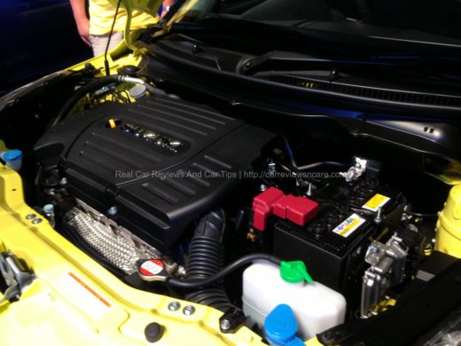 Suzuki Swift Sport Engine Cabin