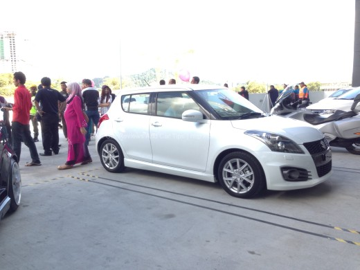 Suzuki Swift Sport Test Drive at SETIA SPICE