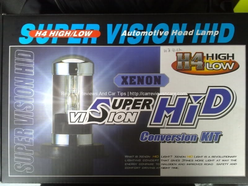 HID Kit with 6000K temperature