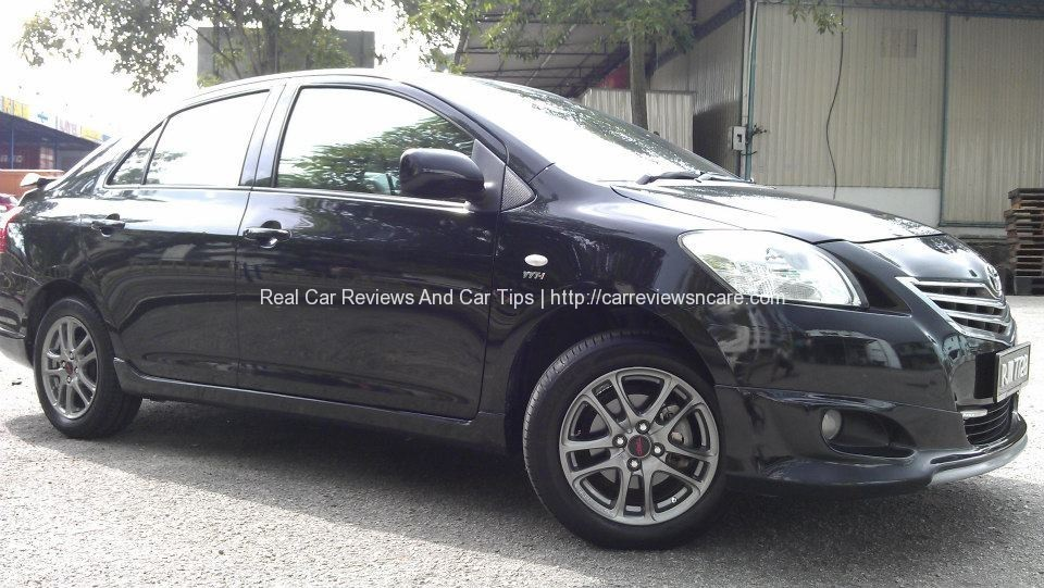 Side View Toyota GT Street Vios